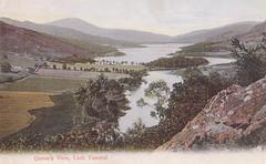 Pitlochry, Queen's View, Loch Tummel 1905