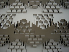 stepvariations (elod beregszaszi) Tags: art geometric matrix architecture paper paperart 3d origami cut geometry space kinetic kirigami spatial folded fold kiri popup proportion crease pap