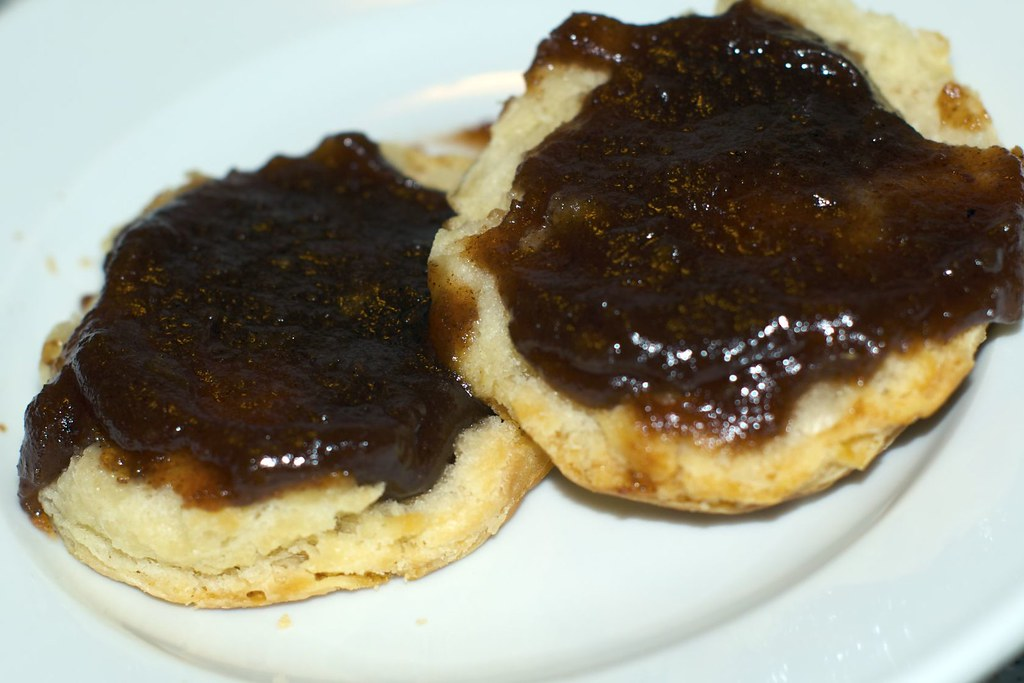 biscuits with apple butter
