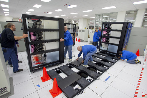 Next-Generation Supercomputer Delivered by Berkeley Lab, on Flickr