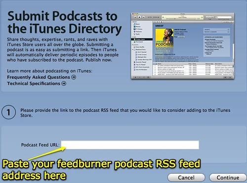 Submit Podcasts to the iTunes Directory
