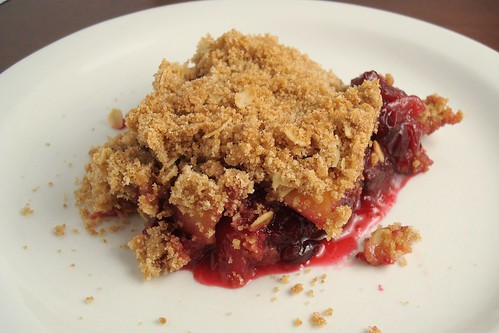 Apple Cranberry Crisp