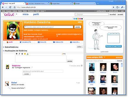 convites novo orkut