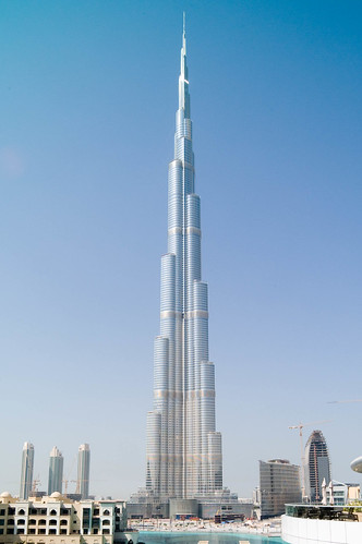 World's tallest building Burj Dubai