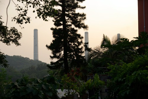 The three chimneys of Lamma