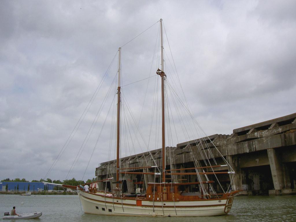 Le Sinbad est le 28e bateau que le marin restaure