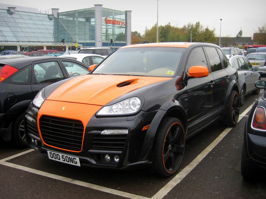 Pimped Porsche Cayenne Comfortablynumb Tags Orange Black 4x4 Cayenne Turbo