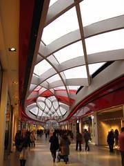 Mediacite51 (ArchiTraveller) Tags: building architecture belgium shoppingcentre shoppingmall liege arad ronarad mediacity inflatableroof latticeroof mediacite plasticroof