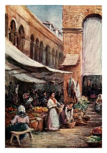 042-Granada-En el mercado-Southern Spain 1908- Trevor Haddon