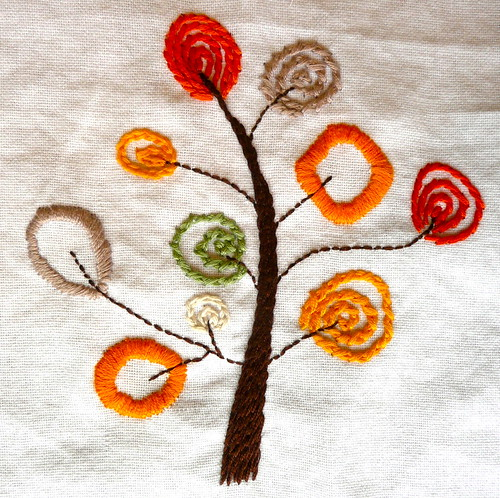 Tea Towel Stitching by Ritapizza