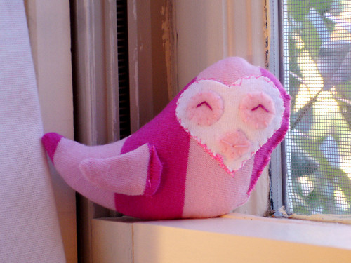 A Plush A Day: Day Six - Pinky