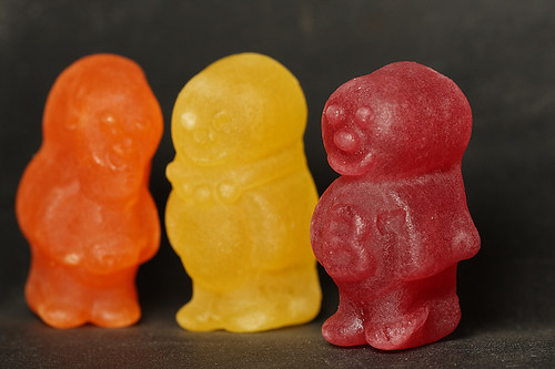 Jelly baby playtime #2 front focus