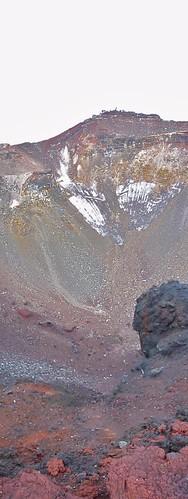Cráter del Fuji