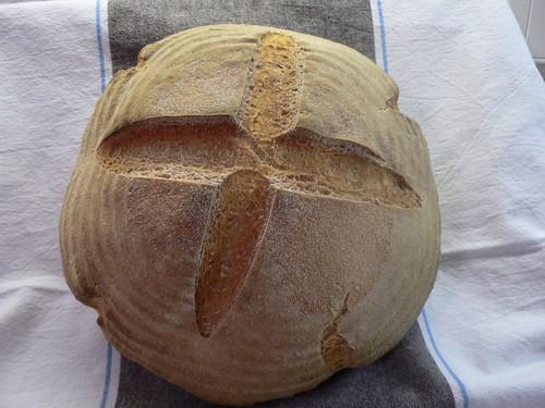 Weizenmischbrot mit Kartoffeln 001