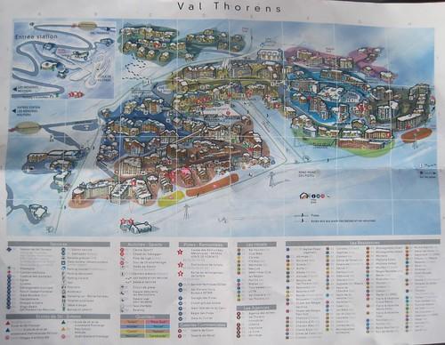 Val Thorens Village Map