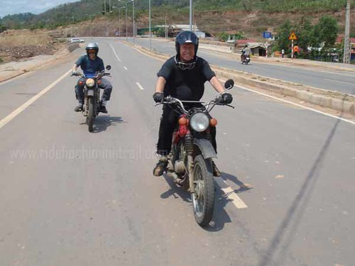 Exploring the Ho Chi Minh Trail, Vietnam