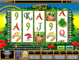 Rainbows End slot game online review