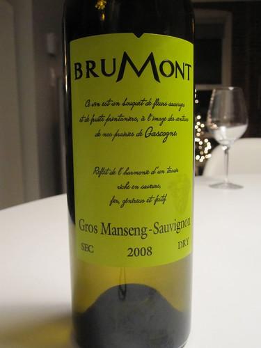 Brumont Gros Marseng-Sauvignon