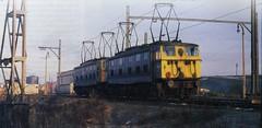 Class 76 76022 76047 Wath 24/2/79 (Stapleton Road) Tags: class76 wath 1979 depot railway electric