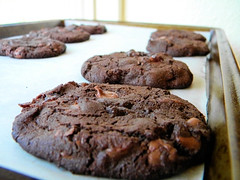 Dark Chocolate Merlot Cookies