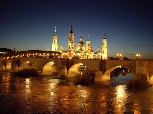 Zaragoza (Pilar & Puente de piedra)