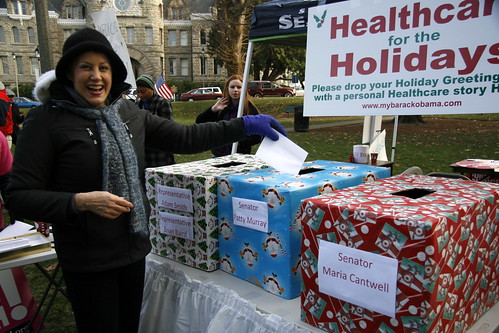 Health Care for the Holidays Rally