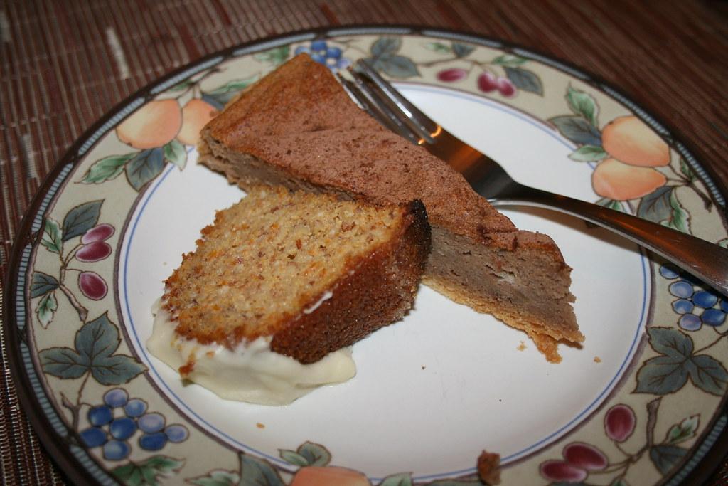 Citrus Bundt Cake & Chestnut Torte
