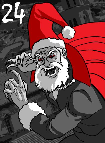 Vamp Santa
