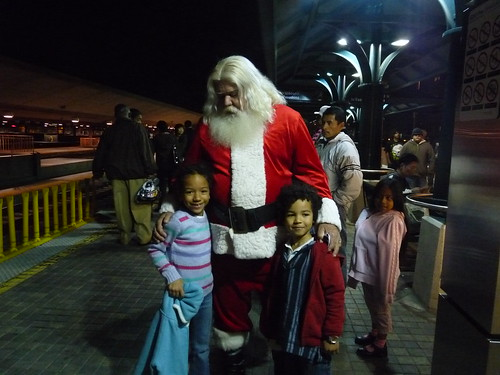 Santa Claus with my kids