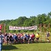 5k run start/finish banner