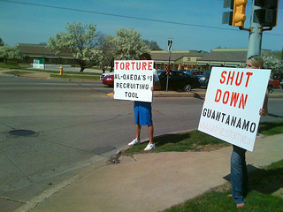 Anti-Torture Vigil - Week 47