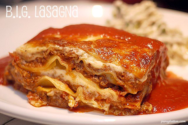 BIG lasagna