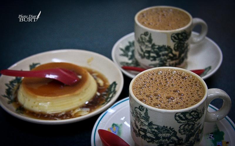 怡保_白咖啡及布丁