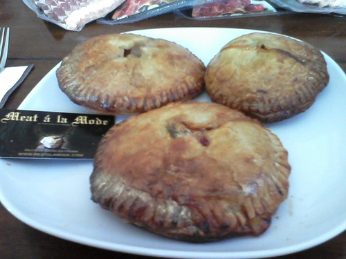 Meat ala Mode Pies