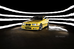 Brian's Dakar (Neil1138) Tags: light painting bmw dakar m3 bbs e36