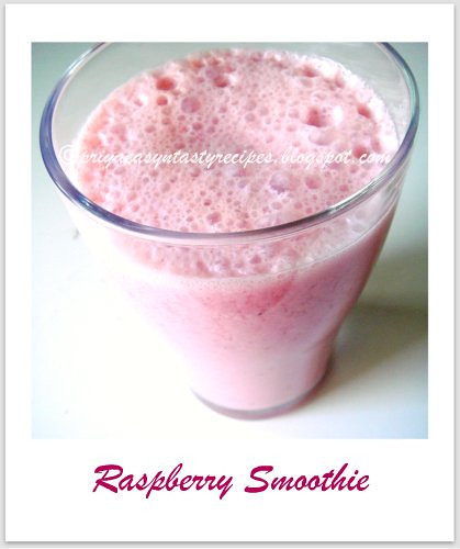 Rasberry Smoothie