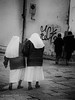 Two Nuns (racefoto) Tags: bw eruope getolympus italy m43 nun religion street travel vacationflorence firenze toscana it