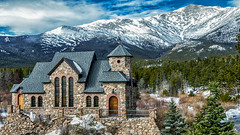 Chapel on the Rocks (markalt) Tags: colorado vatican pope usavacation canon mountains mountmeeker allenspark outdoors landscape vacation winter cold snow church photo photography pretty outside catholic