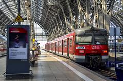 DB 420 884 (ArtDvU) Tags: br420 db deutsche bahn sbahn s7 frankfurt hbf hauptbahnhof central railway station train emu germany deutschland am main 2013 nikon d7000 summer
