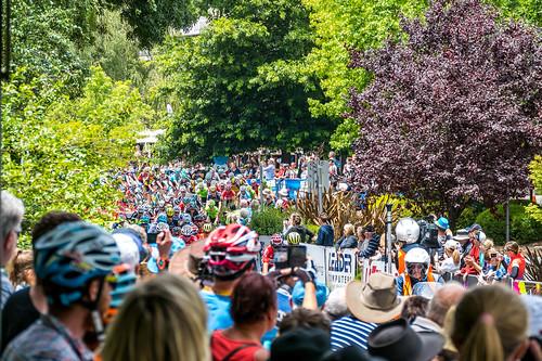 Spectators in Stirling