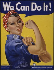 We Can Do It! (The U.S. National Archives) Tags: industry poster rosietheriveter rosie worldwarii feminism bandana biceps wecandoit sleeves riveter warproductionboard warproduction usnationalarchives nara:arcid=535413 warproductioncoordinatingcommittee