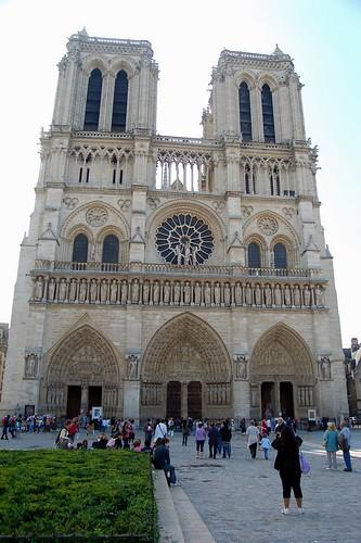 Cathédrale Notre Dame de Paris 巴黎 聖母院