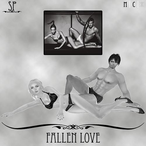 Fallen Love Couples Pose