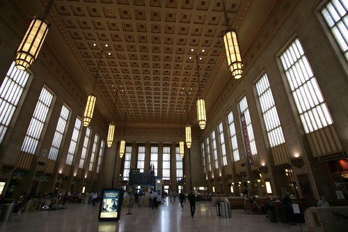 30th Street Station, Philly.