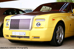 Rolls Royce Phantom Coupe (Abdulaziz Alkhaldi / @alkhaldislr) Tags: color yellow d rollsroyce r u rolls phantom coupe royce  worldcars
