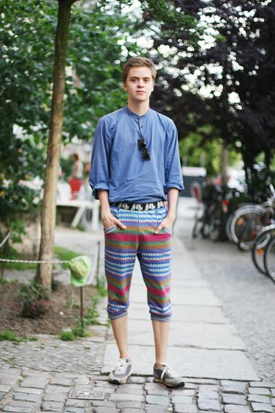 glamcanyon: berlin: capris for men
