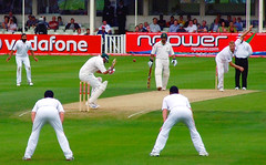 bouncer (nic_r) Tags: england southafrica cricket freddie bouncer testmatch edgbaston flintoff andrewflintoff s6500fd 2008edgbastonday2