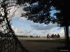 independence (Lua Ahmed) Tags: park trees male fence football wire dude shade lua independence independenceday maldives crush ahmed antenna hani levity wirefence ula dudecrush haniamir ulaahmed