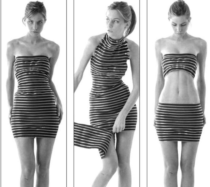 Sebastian Errazuriz body-con zipper dress 4