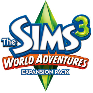 The Sims 3 World Adventures logo by judhudson.